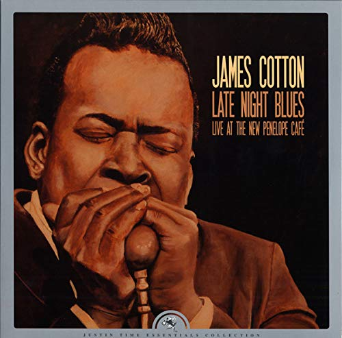 COTTON,JAMES <br/> <small>RSD LATE NIGHT BLUES (LIVE</small>