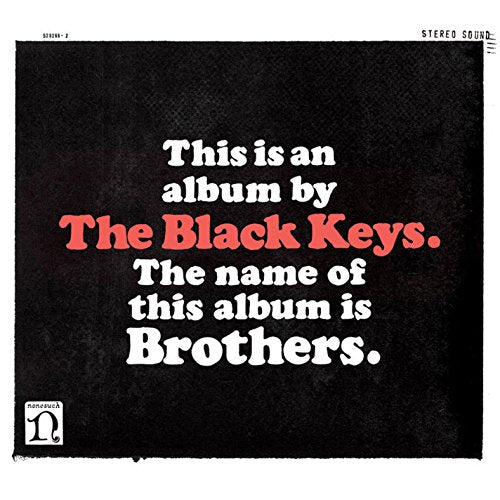 BLACK KEYS <br/> <small>BROTHERS</small>