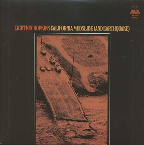 HOPKINS,LIGHTNIN' <br/> <small>CALIFORNIA MUDSLIDE (AND EARTH</small>