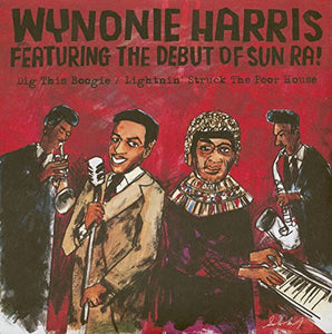 HARRIS,WYNONIE <br/> <small>BF DIG THIS BOOGIE / LIGHTNIN</small>
