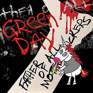 GREEN DAY <br/> <small>FATHER OF ALL</small>