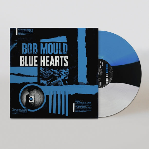 MOULD,BOB <br><small>BLUE HEARTS LP  (WHITE/BLACK/BLUE)<br>out 9/25/2020<br></small>