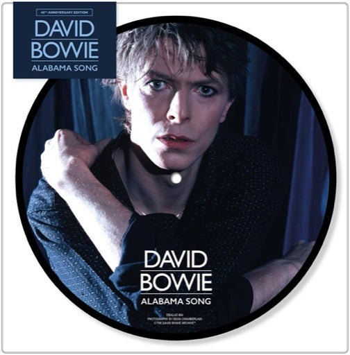 BOWIE,DAVID <br/> <small>ALABAMA SONG (PICT) (ANIV)</small>