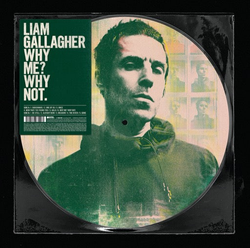 GALLAGHER,LIAM <br/> <small>BF WHY ME WHY NOT (REX)PIC DIS</small>