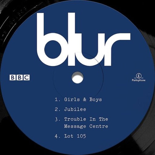 BLUR <br/> <small>LIVE AT THE BBC 10 INCH</small>