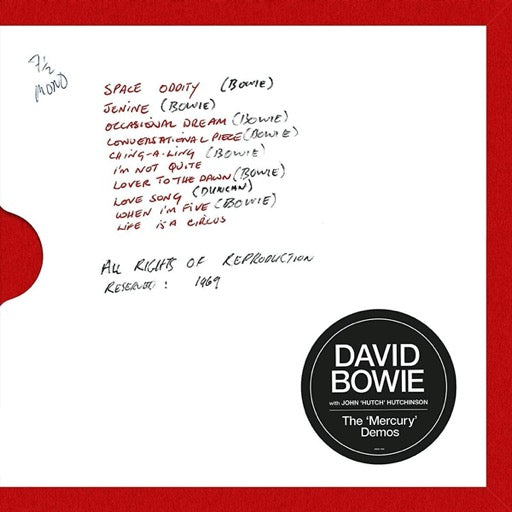 BOWIE,DAVID <br/> <small>MERCURY DEMOS</small>