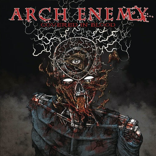 ARCH ENEMY <br/> <small>COVERED IN BLOOD</small>