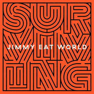 JIMMY EAT WORLD <br/> <small>SURVIVING  (COLV)(WHT)</small>