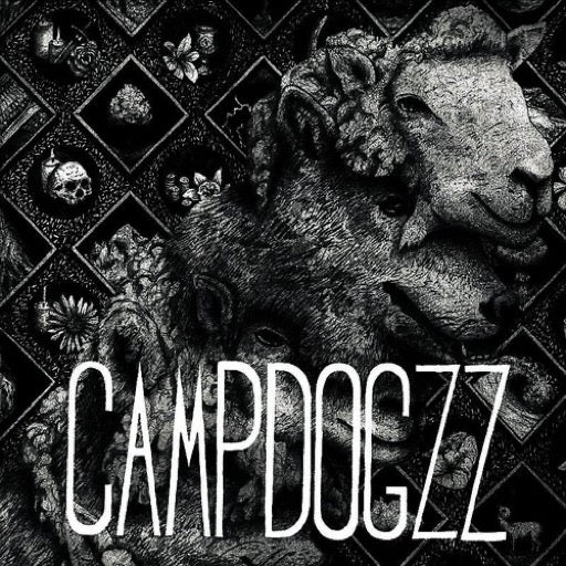 CAMPDOGZZ <br/> <small>RIDERS IN THE HILLS OF DYING H</small>