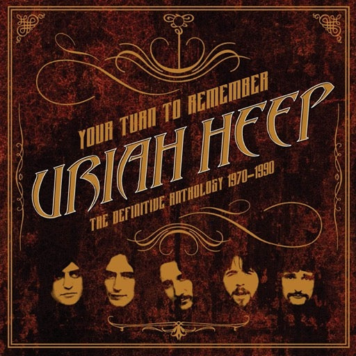 URIAH HEEP <br/> <small>YOUR TURN TO REMEMBER: THE DEF</small>
