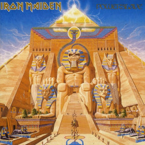 IRON MAIDEN <br/> <small>POWERSLAVE</small>