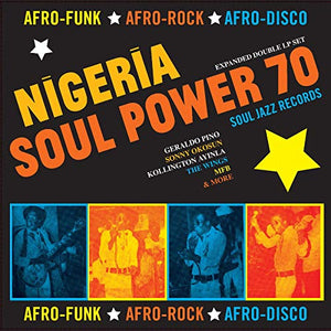 SOUL JAZZ RECORDS PRESENTS <br/> <small>NIGERIA SOUL POWER 70 - AFRO-F</small>
