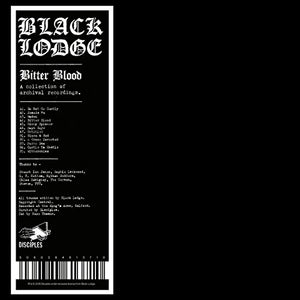 BLACK LODGE <br/> <small>BITTER BLOOD (A COLLECTION OF</small>