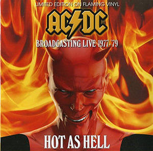 AC/DC <br/> <small>HOT AS HELL LIVE 77-79</small>