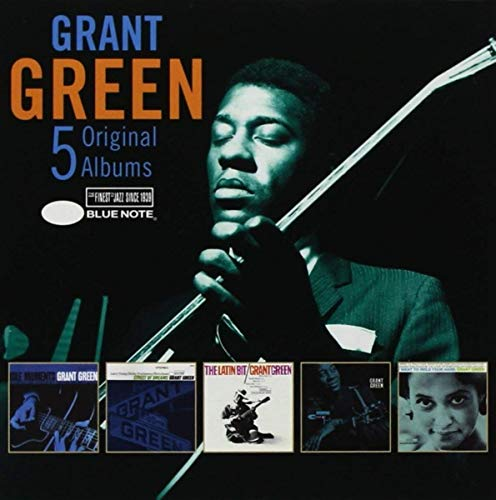 GREEN,GRANT <br/> <small>5 ORIGINAL ALBUMS (BOX)</small>