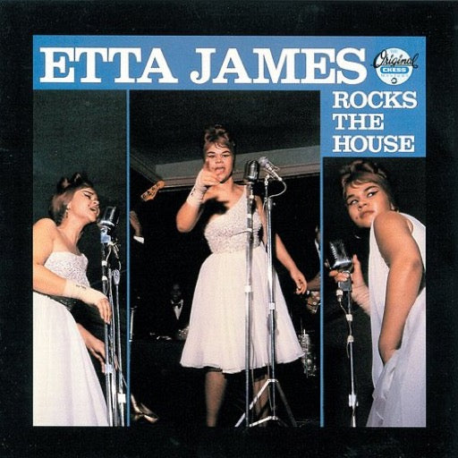 JAMES,ETTA <br/> <small>ROCKS THE HOUSE (BLUE) (BONUS</small>