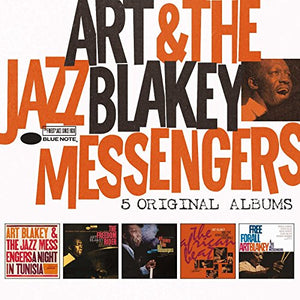 BLAKEY,ART & JAZZ MESSENGERS <br/> <small>5 ORIGINAL ALBUMS (BOX)</small>