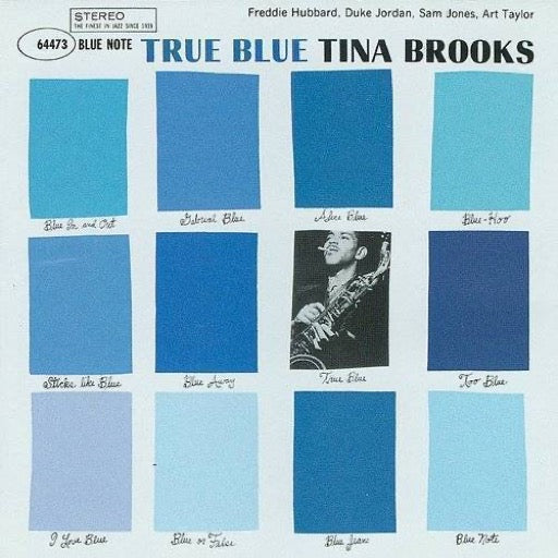 BROOKS,TINA <br/> <small>TRUE BLUE</small>