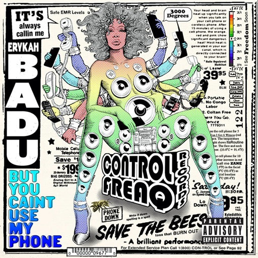 BADU,ERYKAH <br/> <small>BUT YOU CAINT USE MY PHONE (GE</small>