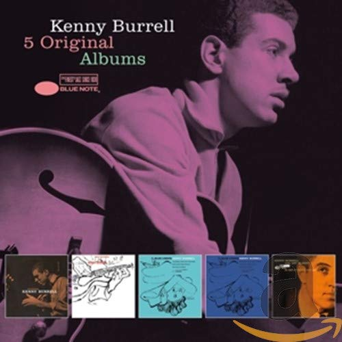 BURRELL,KENNY <br/> <small>5 ORIGINAL ALBUMS (BOX)</small>