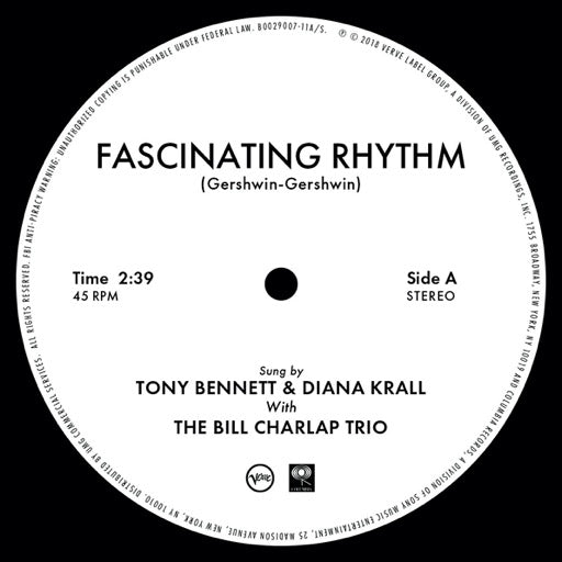 BENNETT,TONY / KRALL,DIANA <br/> <small>FASCINATING RHYTHM (10IN) (REX</small>