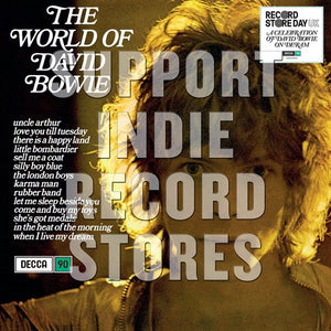 BOWIE,DAVID <br/> <small>RSD WORLD OF DAVID BOWIE (BLUE</small>