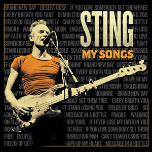 STING <br/> <small>MY SONGS</small>