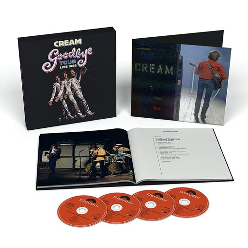 CREAM <br/> <small>GOODBYE TOUR - LIVE 1968 (BOX)</small>