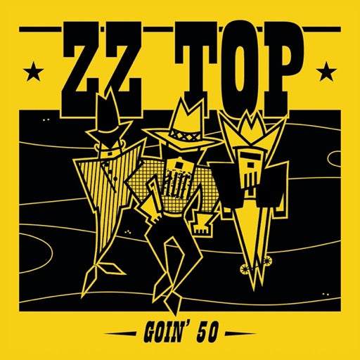 ZZ TOP <br/> <small>GOIN' 50</small>