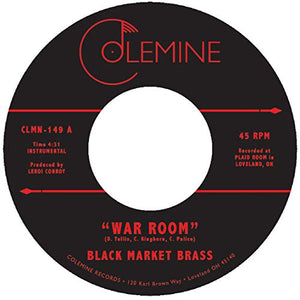 BLACK MARKET BRASS <br/> <small>WAR ROOM / INTO THE THICK</small>