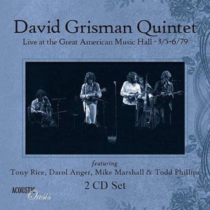 GRISMAN,DAVID <br/> <small>LIVE AT THE GREAT AMERICAN MUS</small>