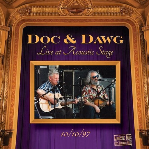 WATSON,DOC / GRISMAN,DAVID <br/> <small>DOC & DAWG LIVE AT ACOUSTIC ST</small>