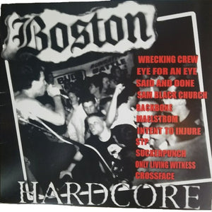 BOSTON HARDCORE 89-91 / VARIOU <br/> <small>BOSTON HARDCORE 89-91 / VARIOU</small>
