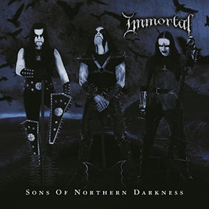 IMMORTAL <br/> <small>SONS OF NORTHERN DARKNESS (BLK</small>