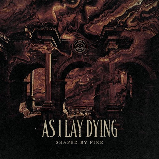 AS I LAY DYING <br/> <small>SHAPED BY FIRE (BEER/BLACK SPL</small>
