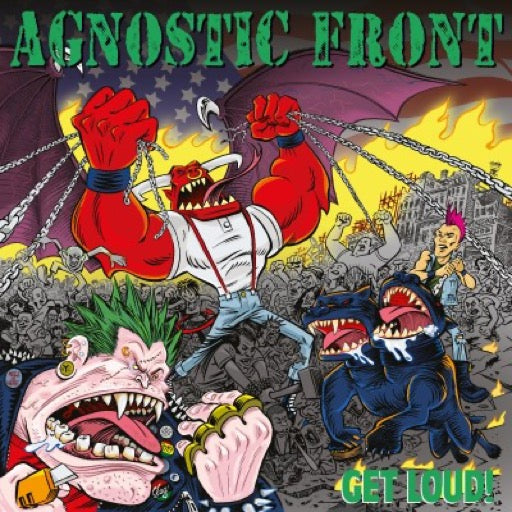 AGNOSTIC FRONT <br/> <small>GET LOUD (COLV) (RED)</small>
