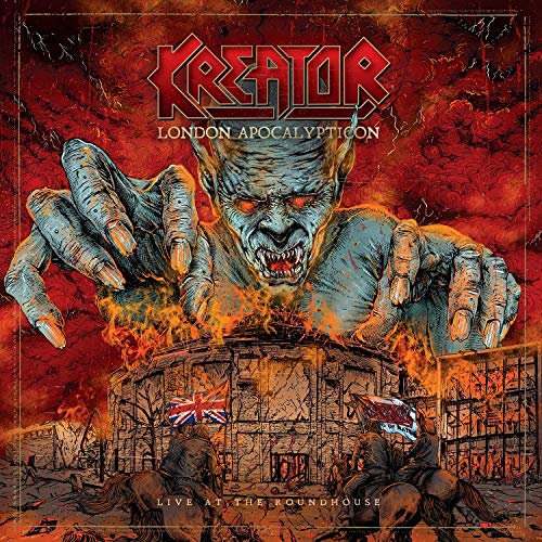 KREATOR <br/> <small>LONDON APOCALYPTICON - LIVE AT</small>