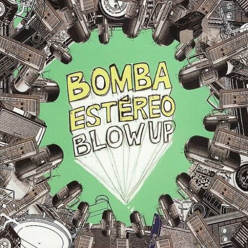 BOMBA ESTEREO <br/> <small>BLOW UP</small>