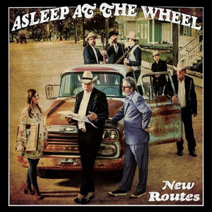 ASLEEP AT THE WHEEL <br/> <small>NEW ROUTES</small>