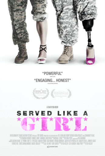 SERVED LIKE A GIRL <br/> <small>SERVED LIKE A GIRL</small>