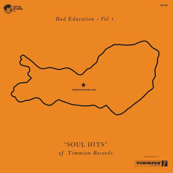 BAD EDUCATION 1: THE SOUL HITS <br/> <small>SOUL HITS OF TIMMION (COLV)</small>