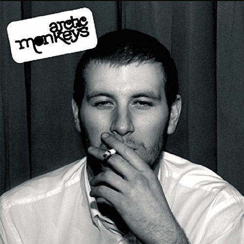 ARCTIC MONKEYS <br/> <small>WHATEVER PEOPLE SAY I AM THATS</small>