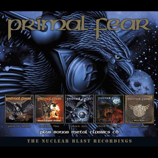 PRIMAL FEAR <br/> <small>NUCLEAR BLAST RECORDINGS</small>