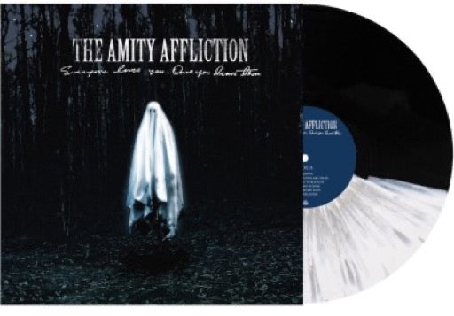 AMITY AFFLICTION <br/> <small>OVERYONE LOVES YOU... ONC(COLV</small>
