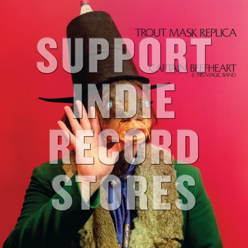 CAPTAIN BEEFHEART & HIS MAGIC <br/> <small>TROUT MASK REPLICA (BLK) (LTD)</small>