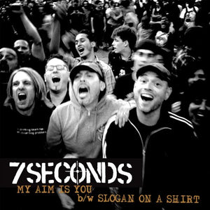 7SECONDS <br/> <small>MY AIM IS YOU (COLORED VINYL)</small>