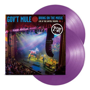 GOV'T MULE <br/> <small>BRING ON THE MUSIC - V.1 LIVE</small>
