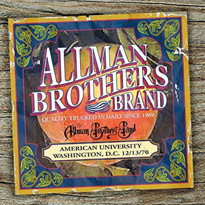 ALLMAN BROTHERS BAND <br/> <small>AMERICAN UNIVERSITY 12-13-70</small>