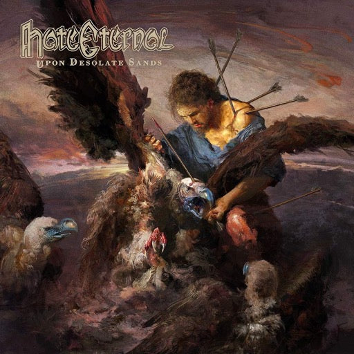 HATE ETERNAL <br/> <small>UPON DESOLATE SANDS</small>