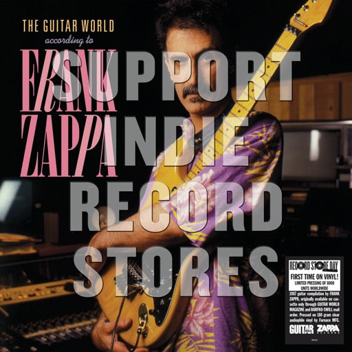 ZAPPA,FRANK <br/> <small>RSD GUITAR WORLD ACCORDING TO</small>